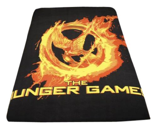 Hunger Games Merchandise Fleece Blanket to Survive the Hunger Games