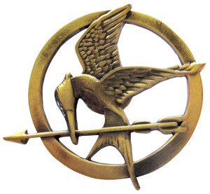 Survive the Hunger Games with this Mockingjay Pin