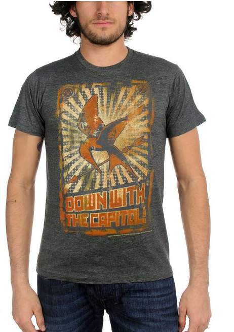 Down With The Captial Hunger Games T-Shirts