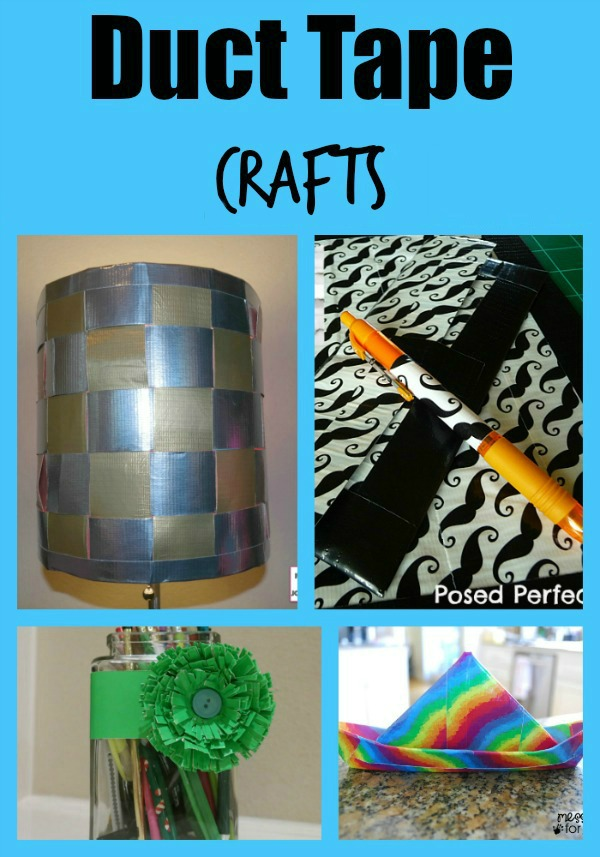 5 Awesome Duct Tape Crafts Anyone Can Make