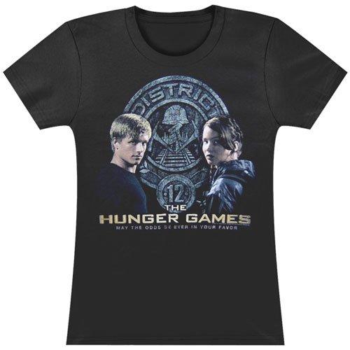 Hunger Games Peeta & Katniss TShirt