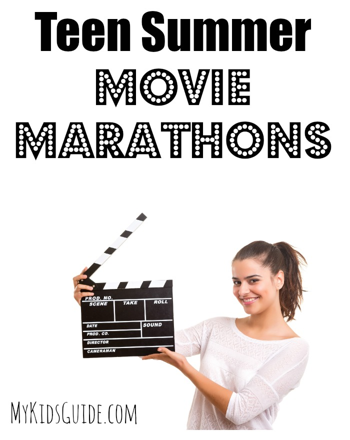 Looking for fun teen summer movie marathons to watch with your friends? These three series all have movies coming out this year, so stay up late & catch up!