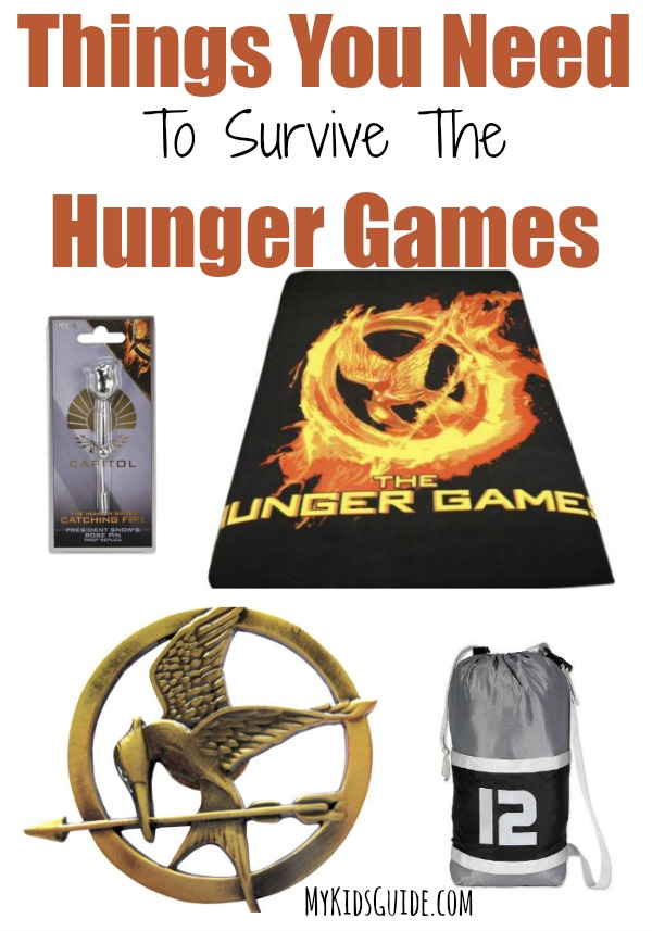 Ever wonder what you'd need to survive the Hunger Games? We've rounded up our favorite useful Hunger Games merchandise that would be perfect for a tribute!