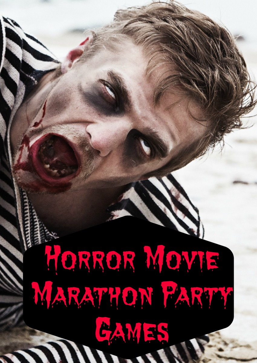 Scare yourself silly with these fun horror movie marathon party games for teens! Perfect activities to get moving in between your favorite creepy flicks!