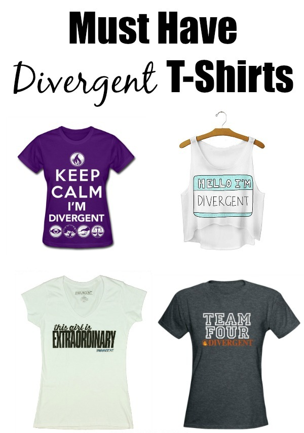 Show Off Your Divergent Pride with these Must-Have T-Shirts!