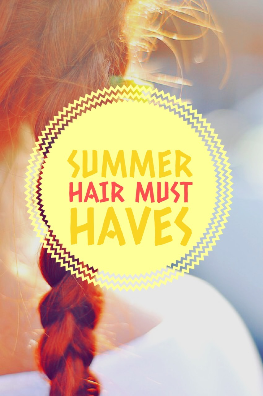 These hair must haves for summer will help keep your locks looking beautiful no matter what you throw at them. So feel free to swim & bask in the sun!