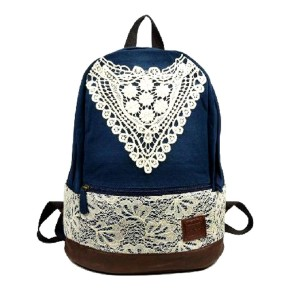 Vintage Lace Back To School Backpacks For Teens