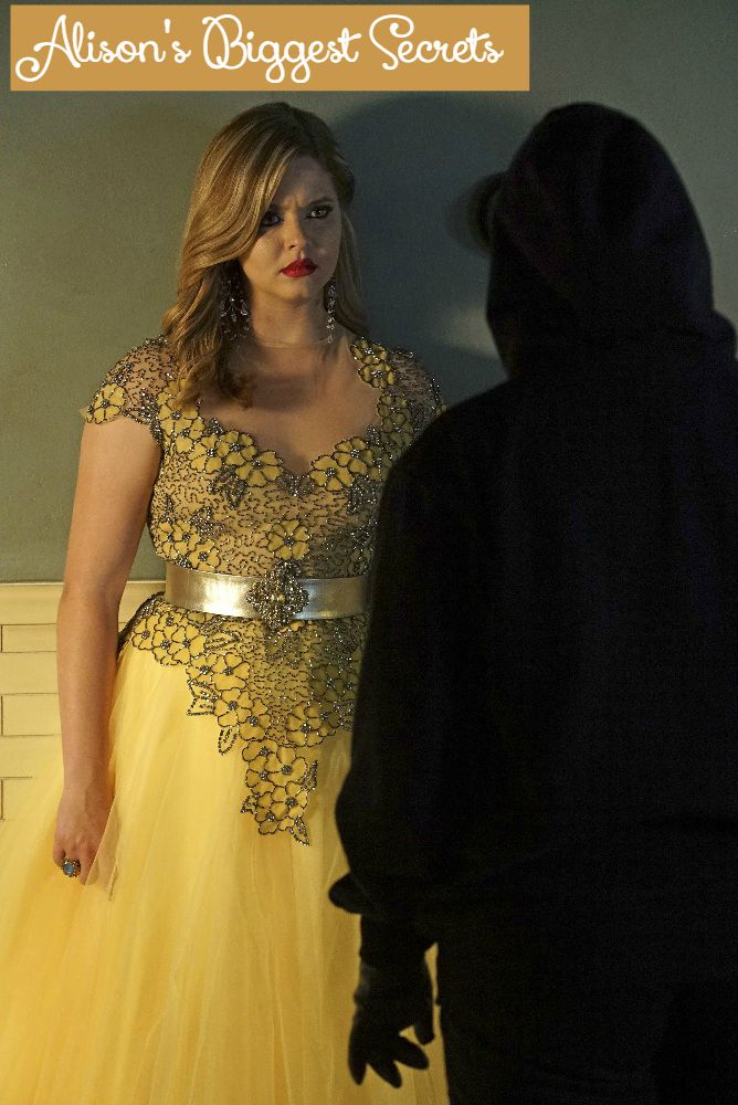 On Pretty Little Liars, Alison has some major secrets that often come back to bite her- and everyone around her- in a major way. Check out a few of Alison's biggest secrets!