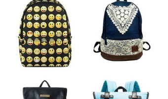 You may have to lug around a ton of books this year, but at least you can do it in style with these super cute back to school backpacks!