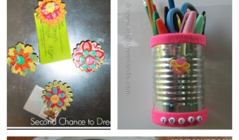 Ditch the drab steely look and make your locker reflect your personality with these awesome locker art back to school crafts for teens!