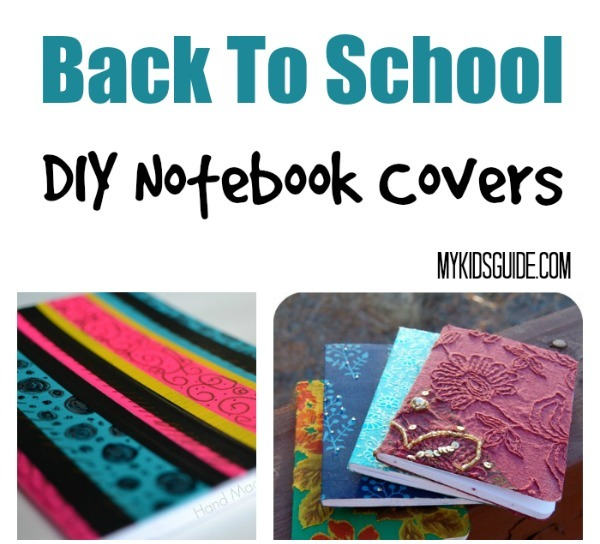 Back To School Craft: DIY Notebook Covers