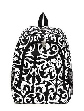 Damask Back To School Backpacks For Teens