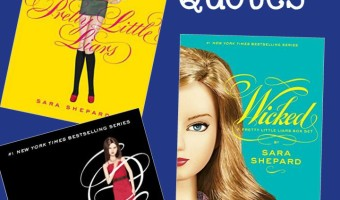 With 16 full-length novels in the series, there are tons of amazing Pretty Little Liars book quotes out there! Check out a few of our favorites!