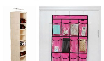 Trying to fit an entire house worth of stuff into an itty bitty on-campus room is a challenge! Check out these stylish dorm room organization ideas!