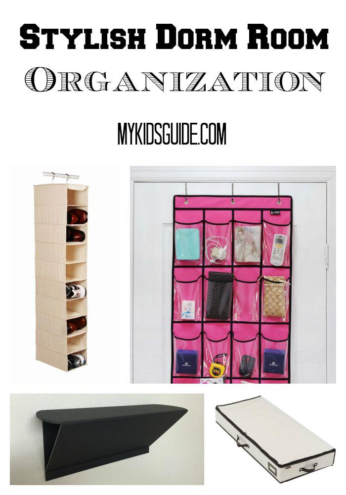 Stylish Dorm Room Organization Ideas For Teens