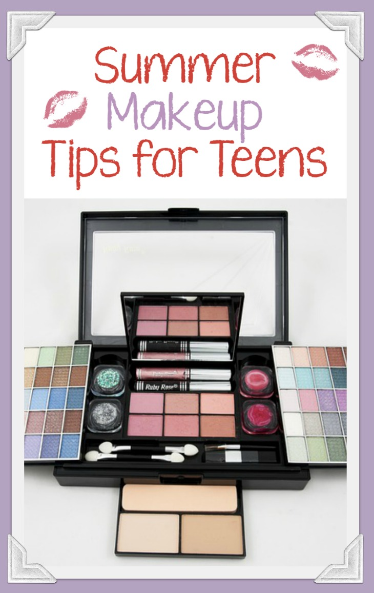 Don't let your pretty face turn into a melting Wicked Witch re-enactment under the hot sun! Check out these great summer makeup tips for teens!