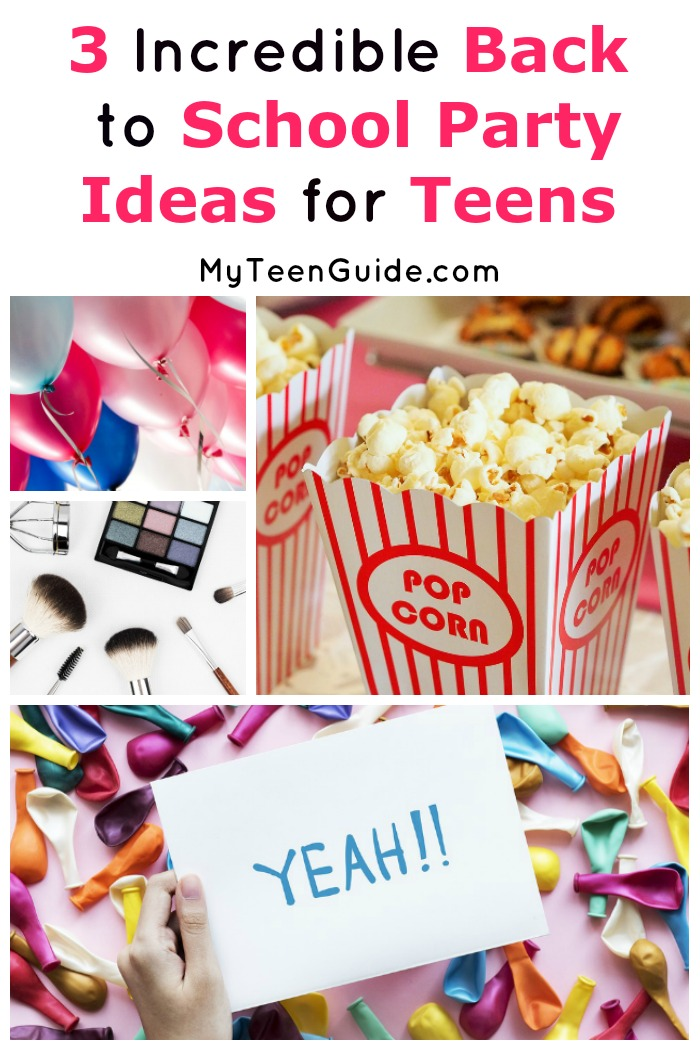 Having a hard time saying goodbye to summer? Cheer up! These back to school party ideas for teens will help you do it in style with your friends!