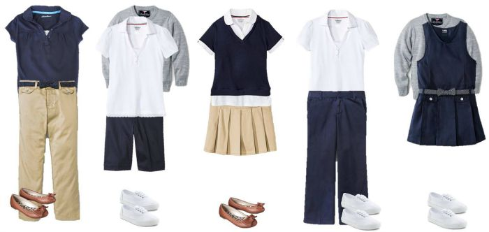 School uniforms can have personality and still stay within the dress code! Check out our 11 ideas for fashionable back to school uniforms for teens.