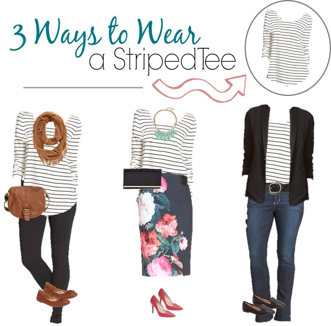7.30 3 Ways to Wear Striped Tee Board (1)