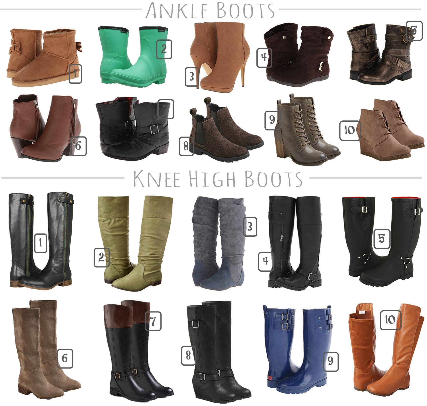 Fall Boots Under $35
