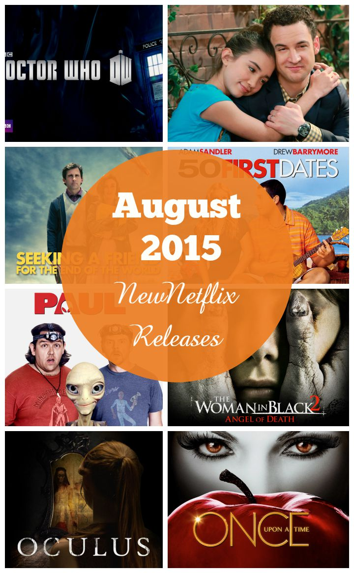 New Releases on Netflix in August 2015