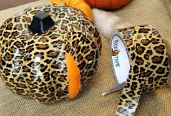 Duct Tape Pumpkin Tutorial Wicked Fun Halloween DIY Ideas