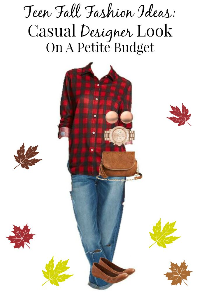 If you have been searching for teen fall fashion ideas, check out this look. We took a pricey designer look and found budget-friendly pieces to match!