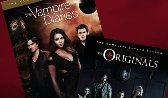 Today we have some really fun Vampire Diaries and Originals stuff for you, including a giveaway where you'll have a chance to win either the 6th season of the Vampire Diaries or the 2nd season of the Originals on DVD. Which will the winner get? It's a surprise!