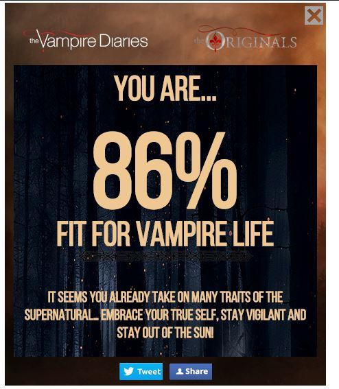 Vampire Quiz Score