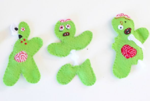 cat zombie craft Wicked Fun Halloween DIY Ideas