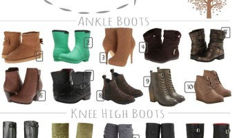 20 Of THE Best Fall Boots (Under $35 Shipped!)