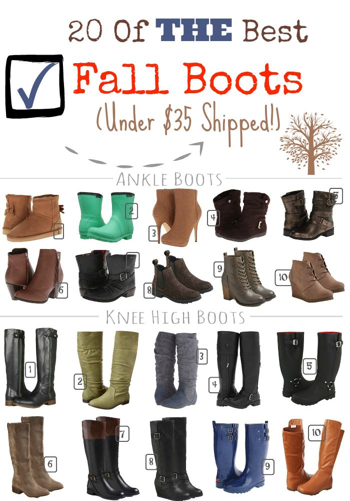 Every girl needs a great pair of boots for fall. We have rounded up 20 pairs of fall boots that every teen girl needs for under $35 per pair with shipping