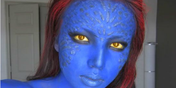 mystique Halloween Makeup Ideas You NEED to Try!