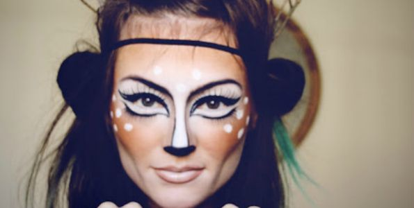 paws deer Halloween Makeup Ideas You NEED to Try!