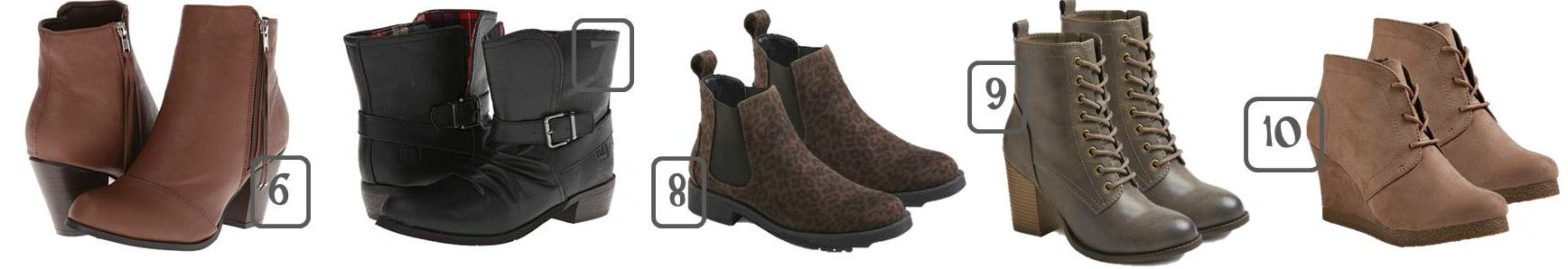 Fall Boots Short Boots