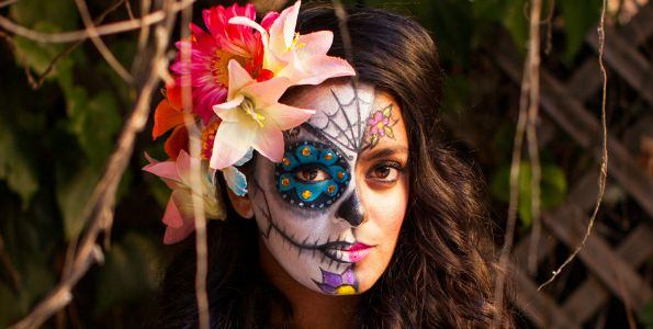 sugar skull Halloween Makeup Ideas You NEED to Try!