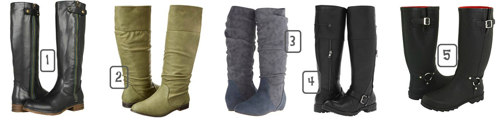 Knee High Fall Boots