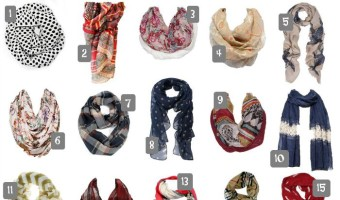 20 Scarves That Are Beyond Adorable Fall Fashion (Under $20 & Free Shipping)