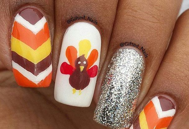 turkey  Fall Nail Makeover Ideas For Teens