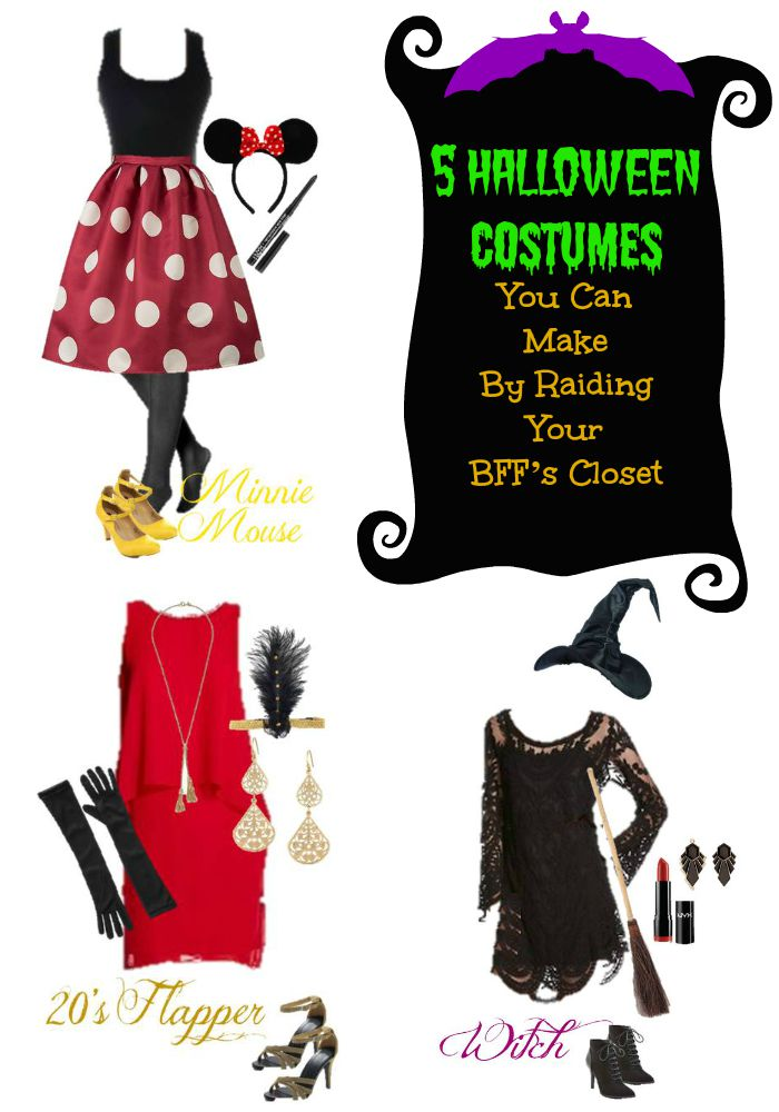 Use our ideas to raid your favorite closet and put together the perfect Halloween costume for teens.