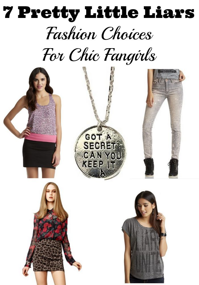 Pretty Little Liars fashion is so on point, I want it all! Our roundup will stock your closet with our choices for chic fangirls.