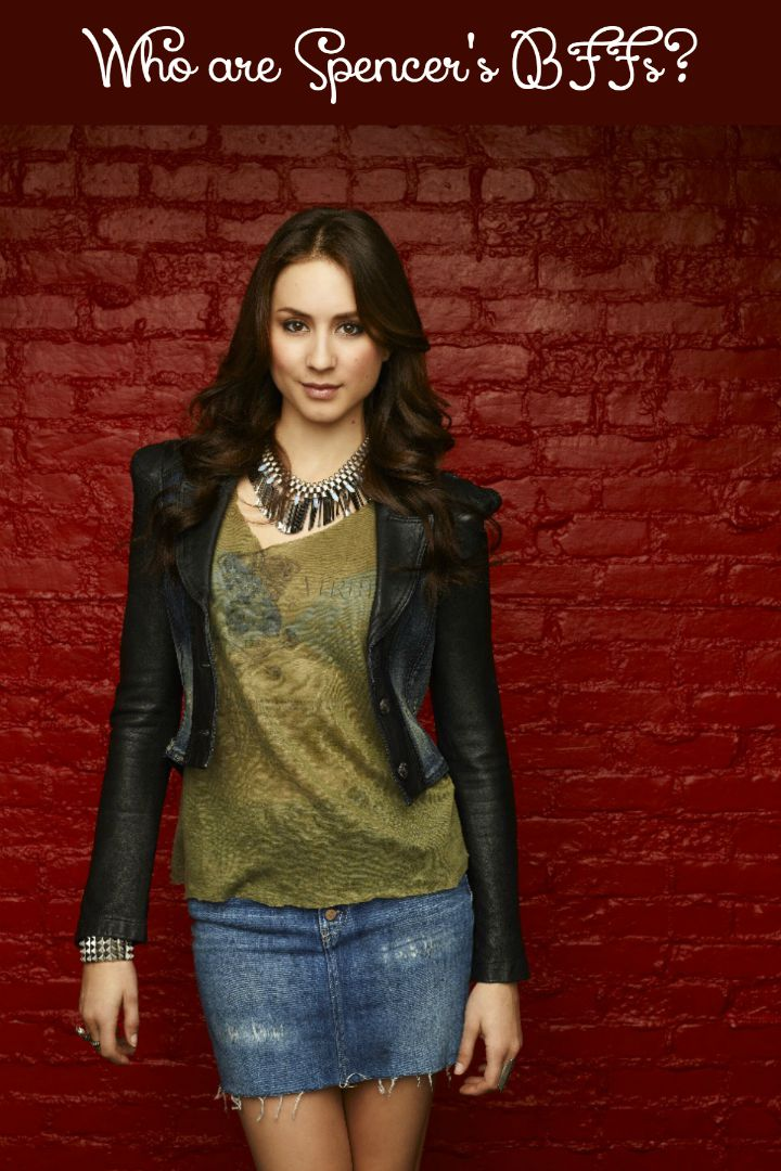 Check out our guide to Spencer's closest friends on Pretty Little Liars and see who she can trust to have her back when A gets up to his (or her!) old tricks!