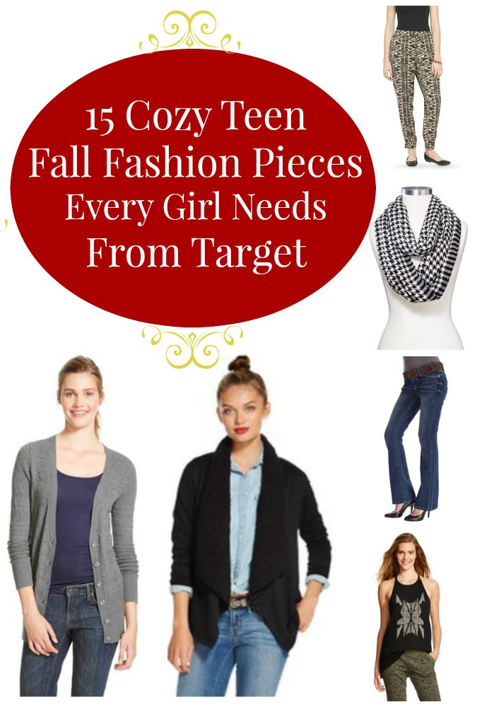 The fall chill is setting in! Stock your wardrobe with 15 Cozy Teen Fall Fashion Pieces Every Girl Needs From Target.