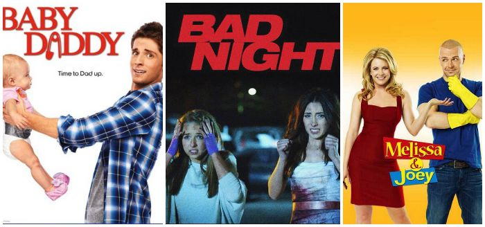 baby daddy bad night collage