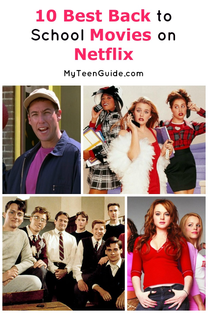 Looking for a fun way to get into the back to school spirit? Check out our picks for the top 10 best teen back to school movies on Netflix that are perfect for a movie marathon night with friends!