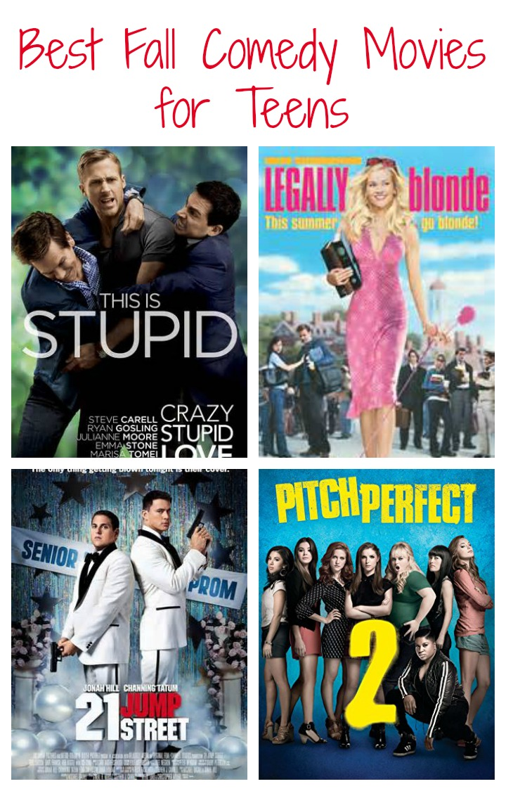 Best Comedy Movies for Teens on a Cold Fall Day