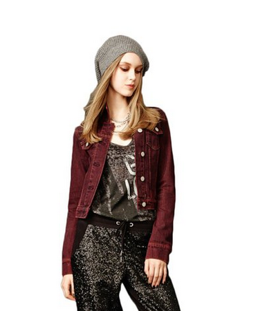 Emily Colored Jean Jacket: 7 Pretty Little Liars Fashion Choices For Chic Fangirls