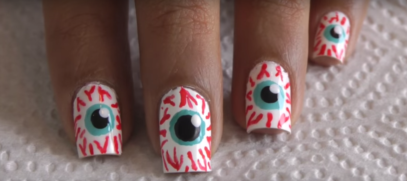 8 Spooktacular Halloween Nail Art Ideas