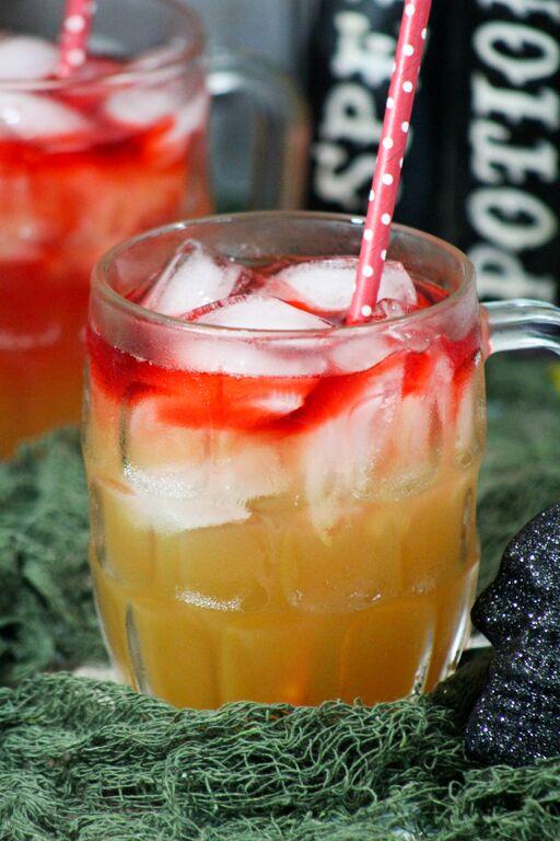 halloween drink for teen apple mocktail2