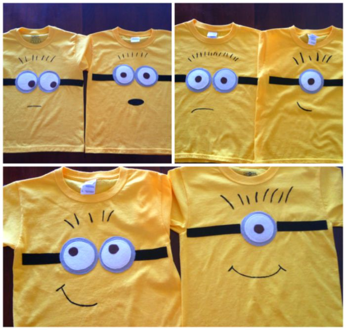 minion shirt Movie Inspired crafts for teens
